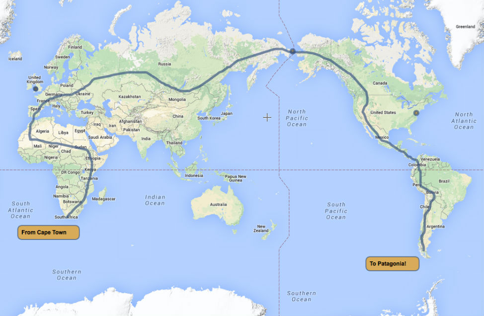 The Worlds Longest Most Epic Road Trip  Planet and Go