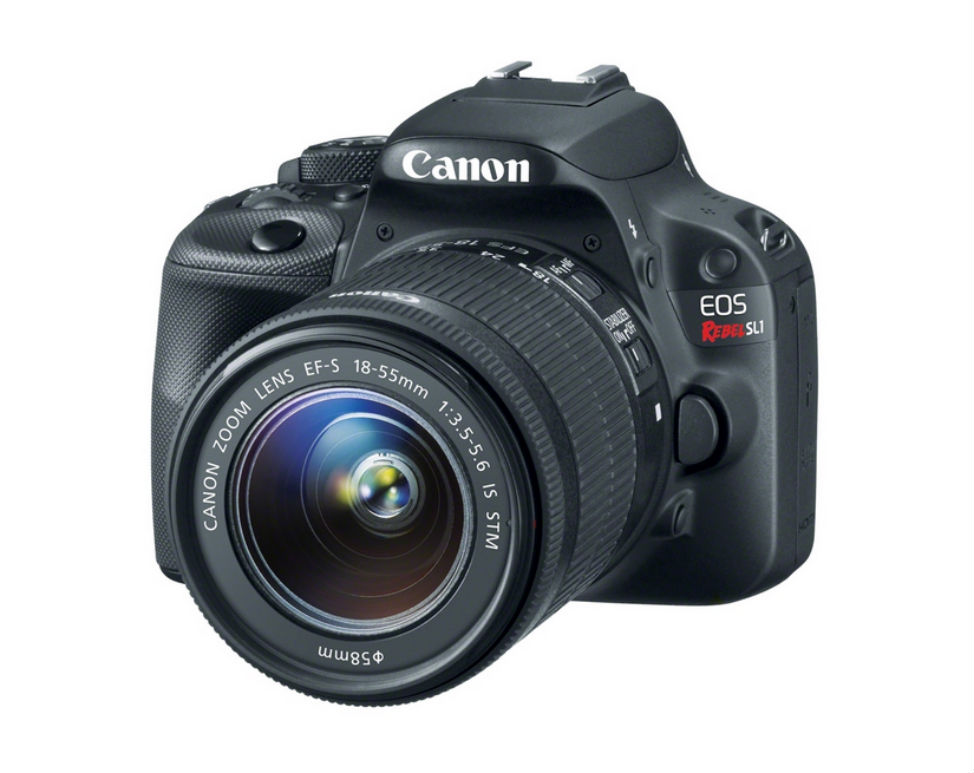 Canon EOS Rebel SL-1 - Best Camera for Travel Photography - DSLR Under $600