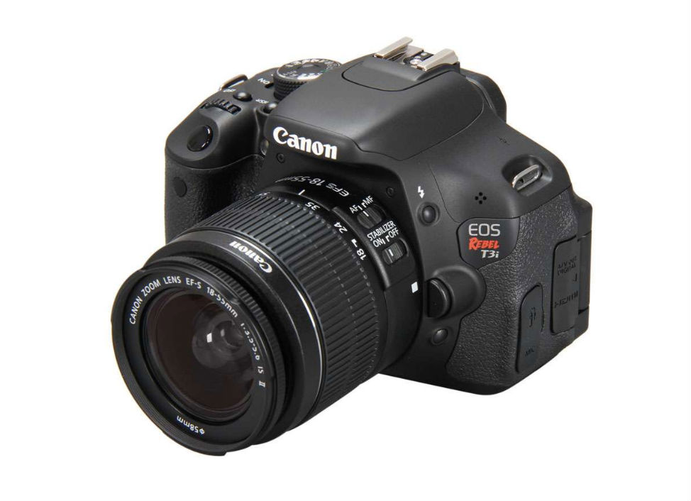 Canon T3i - Best Camera for Travel Photography - DSLR Under $600