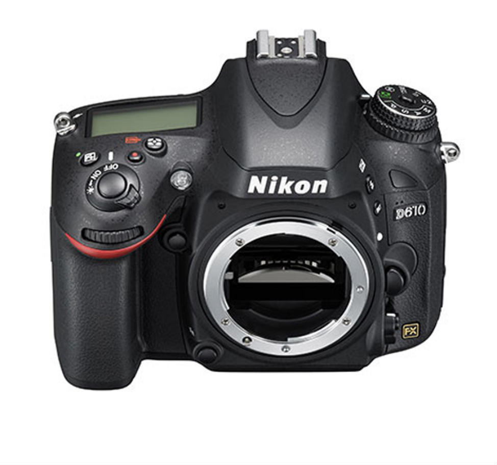 Nikon D610 - Best Camera for Travel Photography - DSLR Under $1600