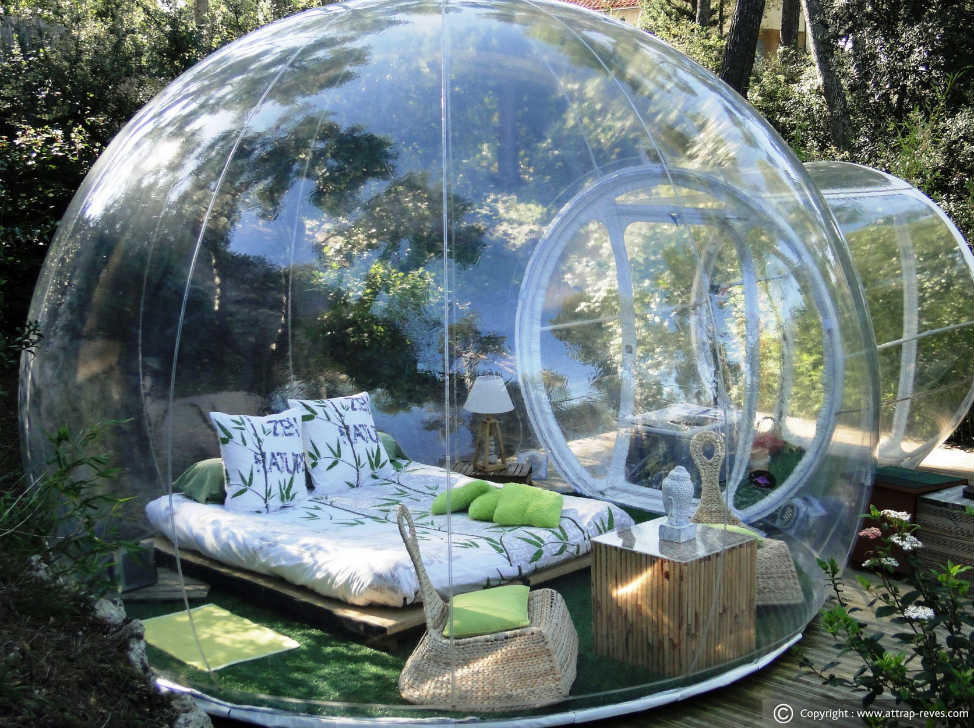 Bubble Hotel - Most unique places to stay